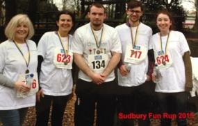 Kernos Fun Run Team